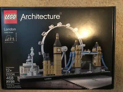 LEGO Architecture London 21034 NEW!!  FREE SHIPPING!!