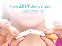 LASER TO QUIT SMOKING ,