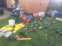 Huge Bundle of Power Tools Hitachi Dewalt Bosch Makita Etc-All Work HUGE JOBLOT