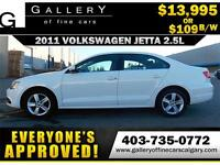 2011 Volkswagen Jetta 2.5L $109 bi-weekly APPLY NOW DRIVE NOW