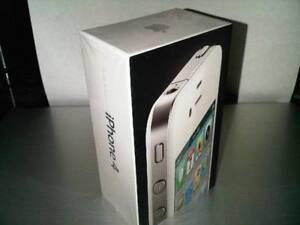 New Sealed Box APPLE IPHONE 4 (UNLOCKED) BLACK / WHITE COLOR