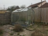 Two greenhouses good condition