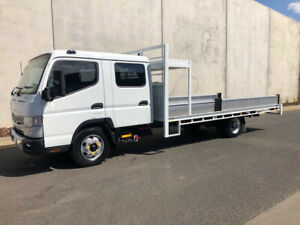 2015 FUSO 815 Dual Cab TRAY TRUCK -NEW TRAY AND RAMPS