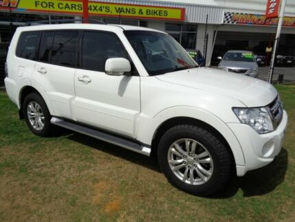 2014 Mitsubishi Pajero NW MY14 VR-X White 5 Speed Sports Automatic Wagon Clontarf Redcliffe Area Preview
