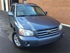 TOYOTA HIGHLANDER 2004 AWD/ AUTO/ V6/ MAGS/ 7 PASSAGERS !!