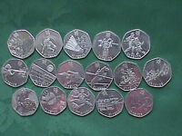 50p OLYMPIC COINS