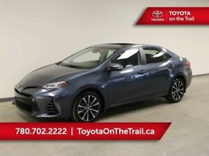 2017 Toyota Corolla SE CVT UPGRADE PKG; SAFETY SENSE, SUNROOF, B
