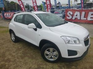 2015 Holden Trax TJ MY15 LS White 6 Speed Automatic Wagon Brownsville Wollongong Area Preview