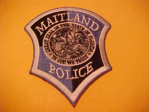 MAITLAND FLORIDA POLICE  PATCH SHOULDER SIZE UNUSED