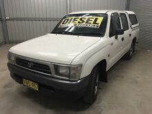 1999 Toyota Hilux LN147R Turquoise 5 Speed Manual Dual Cab Pick-up Coonamble Coonamble Area Preview