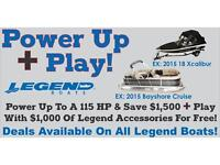 Legend sale on now! Call Tristan @ 780-955-2570