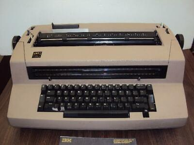 Fully Refurbished Ibm Selectric Iii Correcting Typewriter -90 Days Guarantee