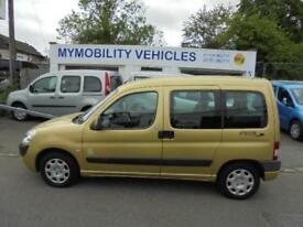 Peugeot Partner 5 Seat Wheelchair Disabled Access Adapted WAV Winch