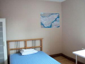 Métro PieIX, chambres meublées, 400-425$/m, t-incl. dispo 1 juin