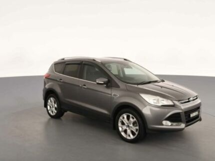 2013 Ford Kuga TF Trend (AWD) Grey 6 Speed Automatic Wagon Clemton Park Canterbury Area Preview