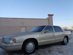 1997 CADILLAC DEVILLE DELEGANCE -LEATHER-SUNROOF-ONLY 154,000KM
