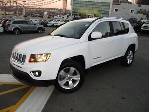2016 Jeep COMPASS HIGH ALTITUDE (4X4, LEATHER, MOONROOF, ALLOYS,