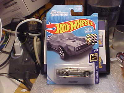 Hot Wheels HW Screen Time Fast & Furious Ice Charger 2018 Factory Seal Sticker