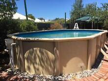 Above Ground Swimming Pool Richmond West Torrens Area Preview