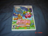 KIRBY RETURN TO DREAMLAND NINTENDO WII COMPLET