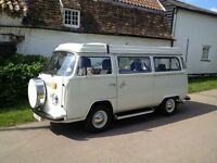 Ivory White 1978 Westy Excellent Condition with new engine