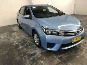 2015 Toyota Corolla ZRE172R Ascent 8w1 - Blue Mist (t) 7 Speed CVT Auto Sequential Sedan Gateshead Lake Macquarie Area Preview