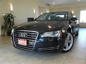 2012 Audi A8 Premium Night Vision|BlindSpot|Navigation