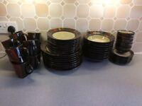Dinnerware - Pier 1 Imports - Mosaic design - Handpainted stoneware