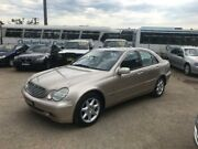 2001 Mercedes-Benz C320 W203 Elegance Beige 5 Speed Sports Automatic Sedan North St Marys Penrith Area Preview