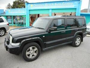 2007 Jeep Commander XH Black 5 Speed Automatic Wagon Christies Beach Morphett Vale Area Preview