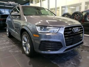 2018 Audi Q3 PROGRESSIV, SUNROOF, HEATED SEATS