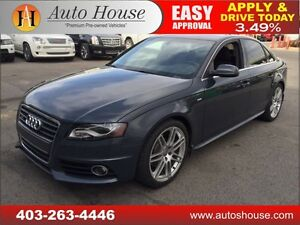 2010 AUDI A4 2.0T SLINE QUATTRO 6 SPEED MANUAL 90DAYNOPAYMENTS