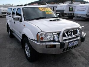 2013 Nissan Navara D22 Series 5 ST-R (4x4) Polar White 5 Speed Manual Dual Cab Utility Albany Albany Area Preview