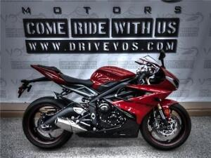 2013 Triumph Daytona 675 - V1787NP- No Payments For 1 Year**