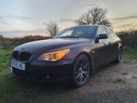 BMW 545i, with the bullet-proof v8 4.4 Petrol engine, Automatic, Black, Full Option/Spec, Long MOT