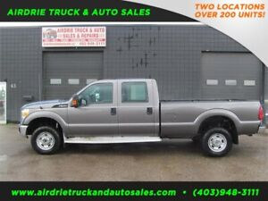 2012 Ford F-350 4X4 CREW CAB 8 Foot LONG BOX Pickup!!