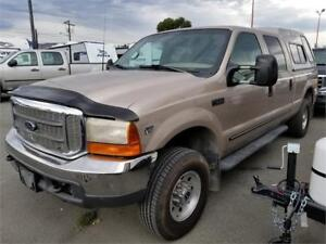 1999 Ford F-350 XLT  CREW 4X4 STRAIGHT CLEAN TRUCK HIGHWAY MILES