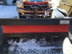 2015 WESTERN POLY SNOW PLOW  8 FT   $4,700    ONO