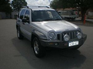 2006 Jeep Cherokee KJ MY05 Upgrade II Limited (4x4) Silver 5 Speed Automatic Wagon Victoria Park Victoria Park Area Preview