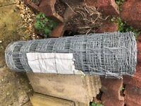Garden/Stock Fencing Galvanised 150 x 9cm Mesh 80cm High 10m Long.