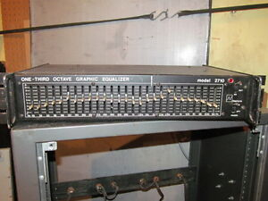 Neptune One-Third Octave, 27 band mono Graphic Equalizer