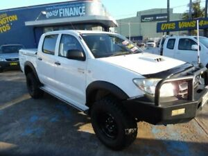 2010 Toyota Hilux KUN26R 09 Upgrade SR (4x4) White 5 Speed Manual Dual Cab Pick-up Homebush West Strathfield Area Preview