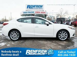 2015 Mazda Mazda3 GT, Heads Up Display, Sunroof, Heated Leather,