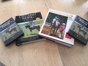 DVD & Livres Centered Riding, Sally Swift, 1 & 2