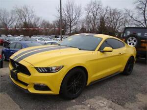 2015 Ford Mustang EcoBoost Premium Manual FULLY LOADED!!