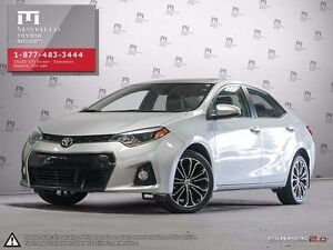 2014 Toyota Corolla Corolla S model upgrade package