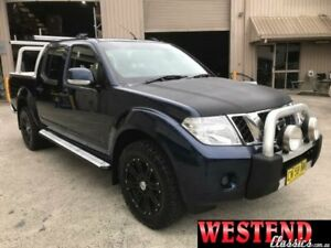2012 Nissan Navara D40 S6 ST Blue Manual Utility Lisarow Gosford Area Preview