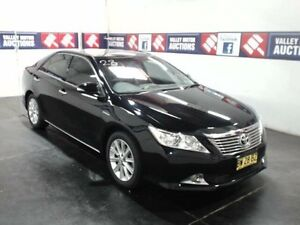 2013 Toyota Aurion GSV50R Prodigy Black 6 Speed Automatic Sedan Cardiff Lake Macquarie Area Preview