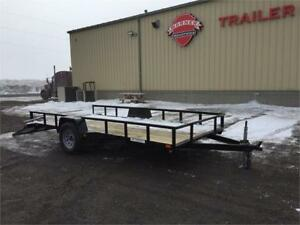 2018 GATORMADE INC. 6FT 4IN X 14 UTILITY TRAILER
