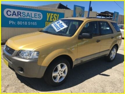 2005 Ford Territory SX TS Gold 4 Speed Sports Automatic Wagon